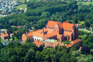 Panorama Pelplina -  Katedra i część miasta