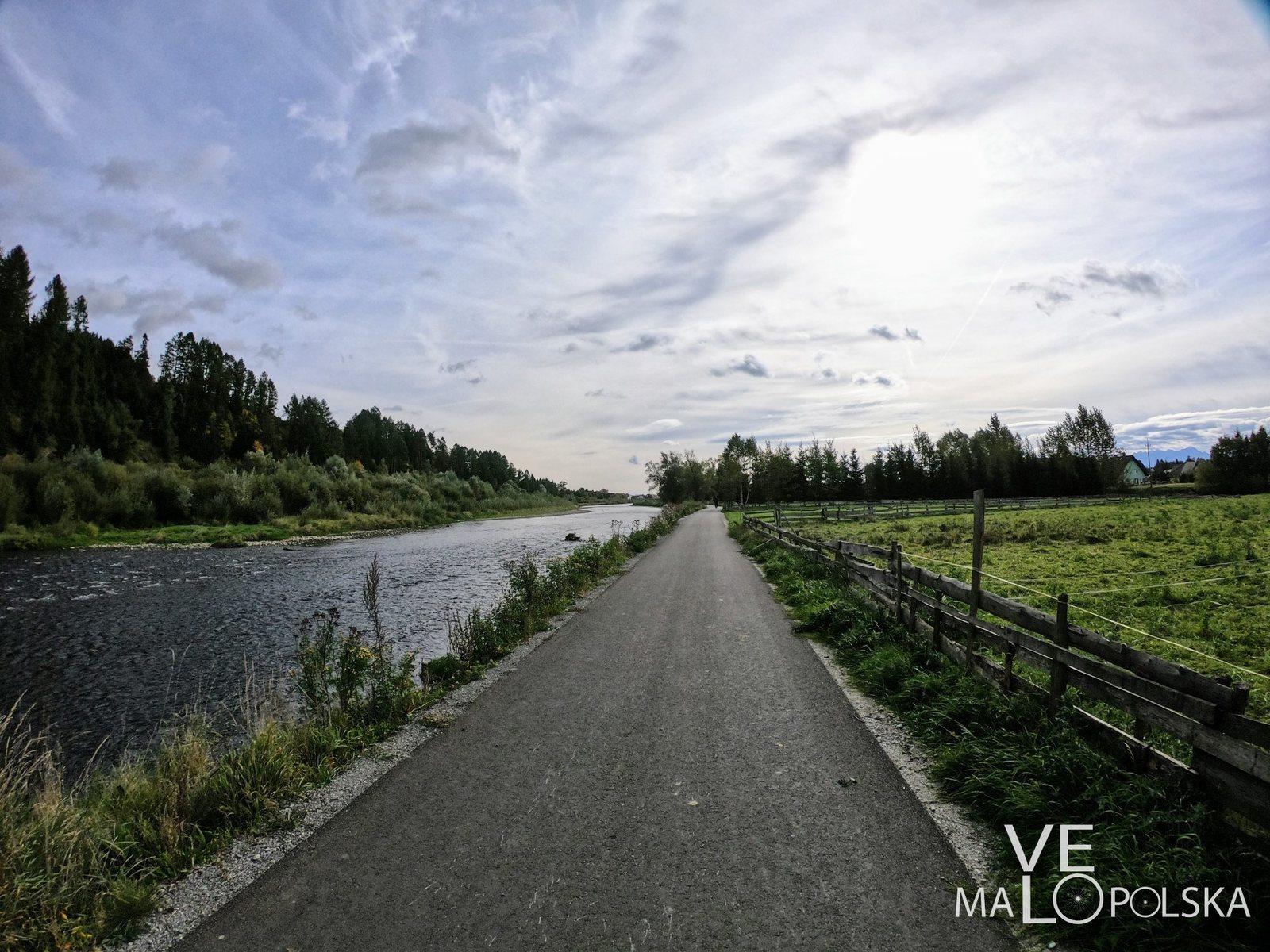Jedna z najlepszych tras rowerowych - Velo Dunajec
